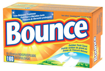 Procter & Gamble Bounce Fabric Softener Sheets, Outdoor Fresh (6 CA/EA)