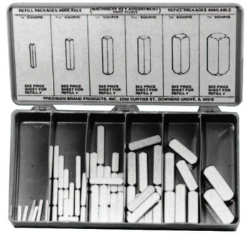 Precision Brand MACHINERY KEY KIT58PCS/KIT (1 KIT/EA)