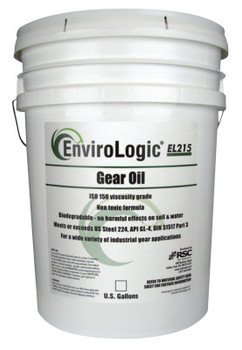 Radiator Specialty Envirologic Hydraulic Gear Oils, 230 C Flash Pt, 5 gal, Bucket (1 EA/EA)