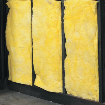 Justrite R-11 Insulation for Fire-Rated Outdoor Safety Locker, 4-Drum , Fiberglass (1 EA/EA)