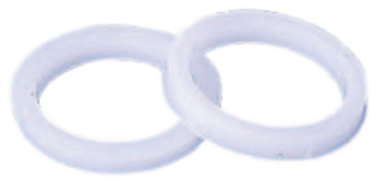 """Weiler Plastic Adapter, 3/8"""" to 1/4"""" A.H. (10 EA/EA)"""