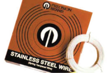 "Precision Brand 1LB  .033""STAINLESS STEEL WIRE (1 ROL/EA)"