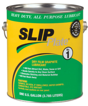 Precision Brand SLIP Plate No. 1 Dry Film Lubricants, 1 gal Can (4 CA/EA)