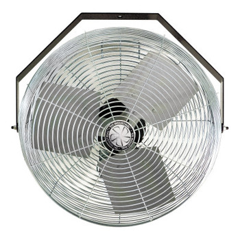 TPI Corp. Work Station Fans, Stationary Direct Drive Rotating, 18 in, 1/8 hp, 3-Speed (1 EA/RL)