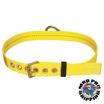 Capital Safety Tongue Buckle Body Belt, w/Back D-ring , No Pad, X-Small (1 EA/BX)