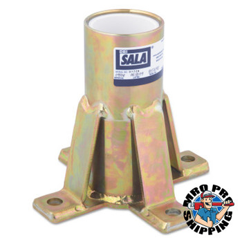 Capital Safety Advanced Floor Mount Sleeve Davit Bases, Davit Base, 12.9lb (1 EA/BOX)