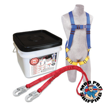 Capital Safety Compliance in a Can Light Roofer's Fall Protection Kits, Hook (1 EA/BX)