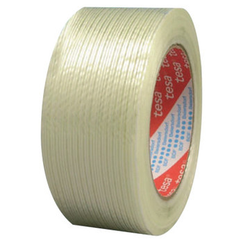 Tesa Tapes Performance Grade Filament Strapping Tape, 3/4 in x 60 yd, 155 lb/in Strength (1 ROL/BOX)