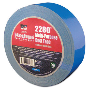 Berry Global 2280 General Purpose Duct Tapes, Blue, 55m x 48mm x 9 mil (1 RL/EA)