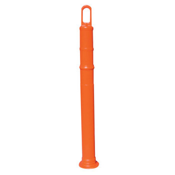 "TrafFix Devices, Inc. Delineator Tubes, Looper, 42"" Stem Only - No Reflective, LDPR, Orange (1 EA/EA)"