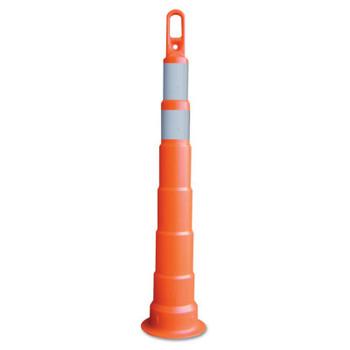"TrafFix Devices, Inc. Delineator Tall Cone, Looper 42"" W/1-4""&6"" HIP W/O Base, LDPE, Orange (1 EA/EA)"