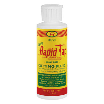 Relton Rapid Tap Metal Cutting Fluids, 4 oz, Plastic Bottle (24 CAN/EA)