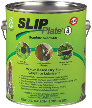 Precision Brand SLIP Plate No. 4 Dry Film Lubricants, 1 gal Can (4 CA/EA)