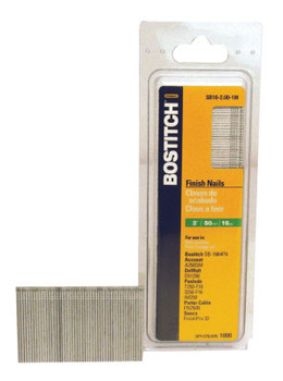 Bostitch 16 GA 1-1/2IN FINISH NAIL  2500/BOX (8 BX/EA)