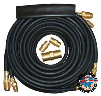 Best Welds Extension Kits, For 18 & 20 Torches, All Hoses 25 ft, Rubber (1 EA/EA)