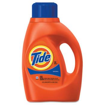 Procter & Gamble Ultra Liquid Tide Laundry Detergents, 50 oz Bottle (6 CA/EA)