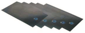 "Precision Brand Steel Shim Stock Sheets, 0.0005"", Low Carbon 1008/1010 Steel, 0.06"" x 18"" x 6"" (10 PKG/EA)"
