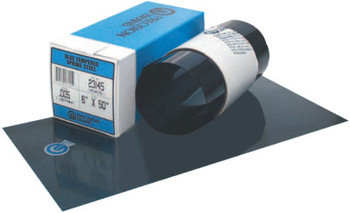 "Precision Brand Blue Tempered Shim Stock Rolls, 0.00075"", Steel 1095, 0.005"" x 50"" x 6"" (1 ROL/EA)"