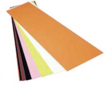 "Precision Brand Color Coded Shims, 0.05, Polyester, 0.001"" x 20"" x 20"" (1 SHE/EA)"