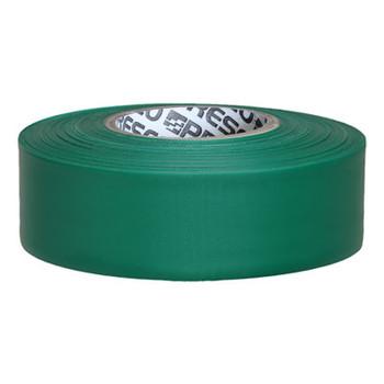 Presco Flagging Tape, 1 3/16 in x 300 ft, Green (12 RL/EA)