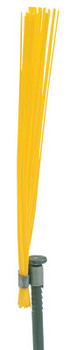 Presco Marking Whiskers, 6 in Height, Yellow (1000 BOX/EA)