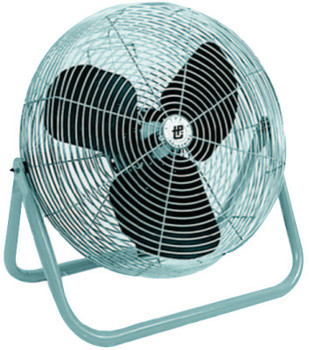 TPI Corp. Industrial Floor Fans, 12 in, 1/2 hp, 3-Speed (1 EA/EA)