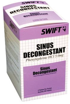 Honeywell Sinus Decongestant Tablets, Unflavored (1 BX/EA)