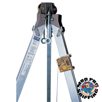 Capital Safety Advanced Confined Space Tripod Pulleys, 3 Legs (1 EA/PK)