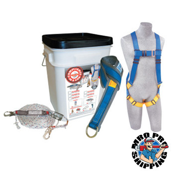 Capital Safety Compliance in a Can Roofer's Fall Protection Kits, D-Ring, Snap (1 EA/EA)