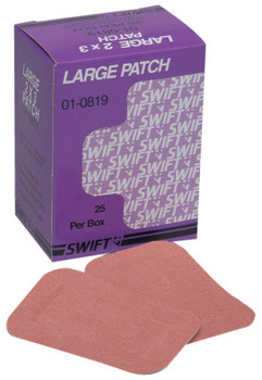 Honeywell Heavy Woven Adhesive Bandages, Beige Fabric Patch (1 bx/EA)
