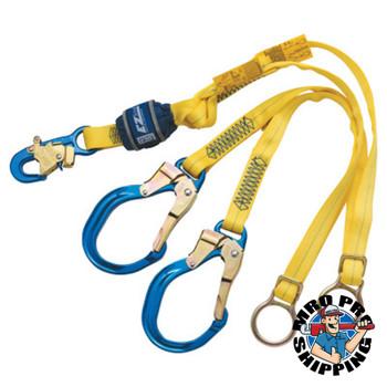 Capital Safety EZ-Stop Tie-Back 100 Tie-Off Shock Absorbing Lanyards, 6ft, 310/420lb (1 EA/PR)