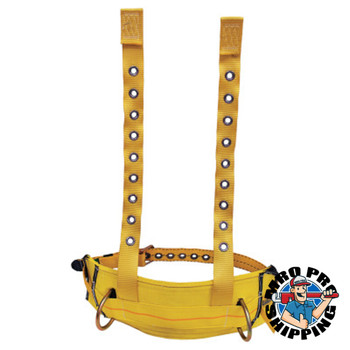 Capital Safety Derrick Belt, Work Pos Ring, Tnge Bkle Belt and Con to Harns, use w/1106354, X-L (1 EA/CA)