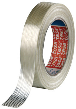 Tesa Tapes Economy Grade Filament Strapping Tape, 3/4 in x 60 yd, 100 lb/in Strength (48 EA/GS)