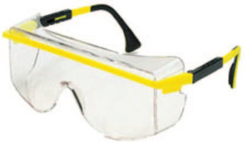 Honeywell Astrospec 3000 OTG Replacement Lenses, Gray, Ultra-dura Hard Coat (10 BOX/EA)
