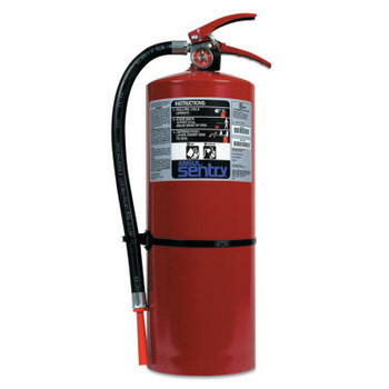 Ansul SENTRY Dry Chemical Hand Portable Extinguisher, Class B/C Fires, 20 lb Cap. Wt. (1 EA/EA)