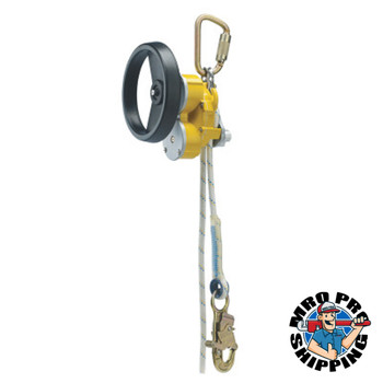Capital Safety Rollgliss R550 Rescue and Descent Devices, 100 ft, w/ Rescue Wheel; Anchor Sling (1 EA/COIL)