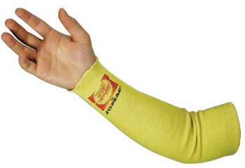 Wells Lamont Kevlar Sleeves, 18 in Long, Elastic Closure, One Size Fits Most, Yellow (1 EA/EA)