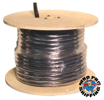 """Best Welds SOOW Portable Cords, 0.05"""" Insulation, 4 AWG/4 Conductor, 250 ft, Black (250 FT/EA)"""