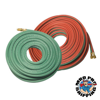 Best Welds Welding Hose Assembly, Grade T, 10 ft Length, Single Line, 1/4 in, BB Fitting (1 EA/EA)
