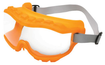 Honeywell Strategy Goggles, Clear/Hot Orange, Uvextra Antifog, Neoprene, Indirect Vent (10 PR/EA)