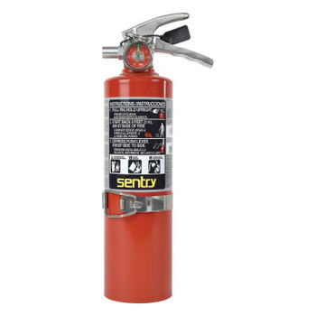Ansul SENTRY Dry Chemical Hand Portable Extinguisher, Class ABC Fires, 2.5lb Cap. Wt. (1 EA/BIT)