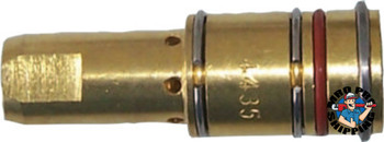 Best Welds Gas Diffusers, Brass, For Bernard MIG Guns & 7400 Series Contact Tips, 400-600A (1 EA/EA)