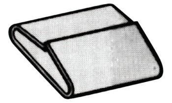 Strapbinder Specialty Seals, 1/2 in, Stainless Steel 304 (1000 CT/BIT)