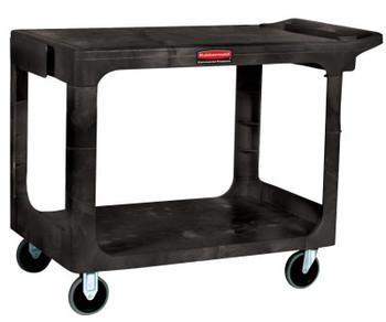 Newell Rubbermaid Heavy-Duty Flat Shelf Utility Carts, 500 lb, 38 1/2 X 17 1/4 X 38 1/8h, Beige (1 EA/EA)