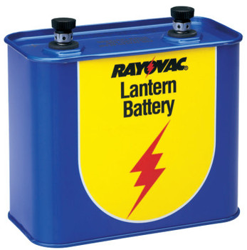 Rayovac Lantern Batteries, General Purpose, 6V (1 EA/EA)