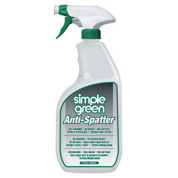 Simple Green Anti-Spatters, 32 oz Plastic Container with Spray Trigger, Clear (1 EA/EA)