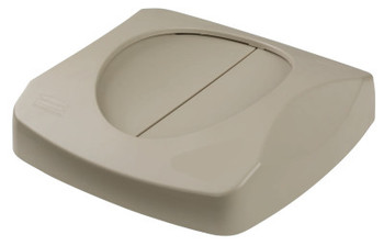 Newell Rubbermaid Untouchable Container Tops, Swing Top, For Fits 3569-07; 3569-88, (4 EA/PK)