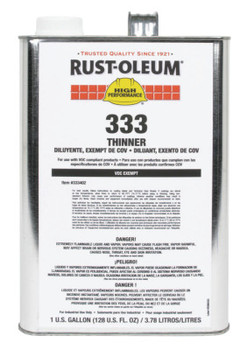 Rust-Oleum Industrial Rust-Oleum High Performance 333 Thinner (2 CA/PK)