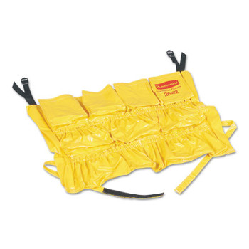 Newell Rubbermaid Brute Rim Caddies For Use With Brute 32 gal/44 gal Containers, 20 in dia, Yellow (1 EA/PK)