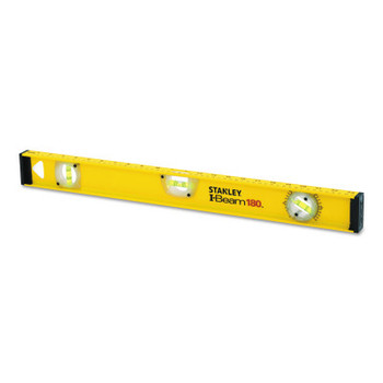 Stanley Products I-Beam 180 Levels, 24 in, 3 Vials (1 EA/EA)
